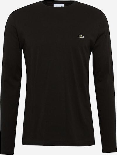 LACOSTE T-Shirt en noir, Vue avec produit