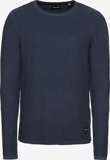 Only & Sons Pullover 'DAN' in dunkelblau, Produktansicht
