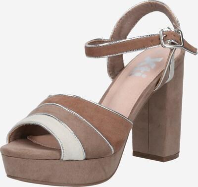 Xti Sandale in beige / ecru / hellbeige, Produktansicht