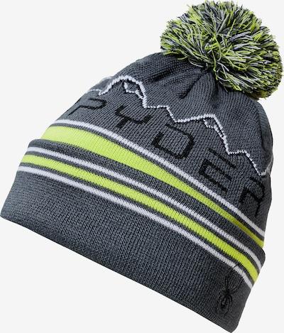 SPYDER Mütze 'ICEBOX' in gelb / grau / schwarz / weiß, Produktansicht