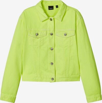 LMTD Jacke 'FIZZA TWI ' in gelb, Produktansicht