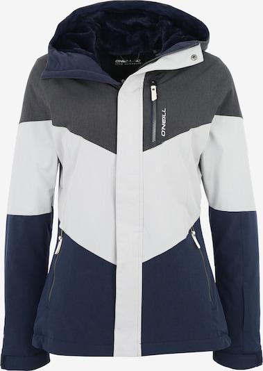 O'NEILL Sportjacke 'Coral' in nachtblau / grau / weiß, Produktansicht