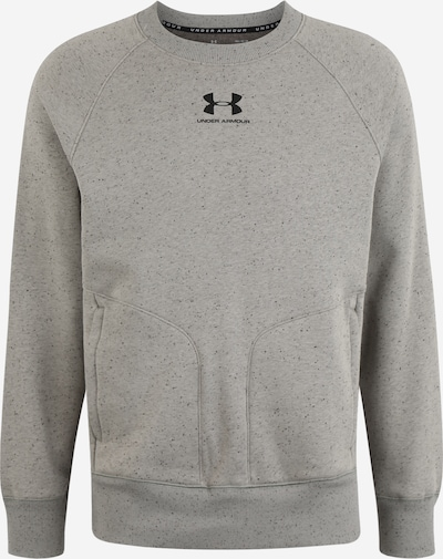 UNDER ARMOUR Sportsweatshirt in de kleur Kaki / Zwart, Productweergave