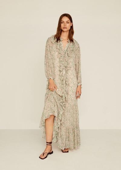 MANGO Sukienka plażowa w kolorze mieszane kolorym, Podgląd na modelu(-ce)