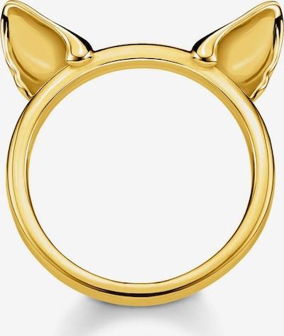 Thomas Sabo Ring 'Katzenohren' in gold, Produktansicht