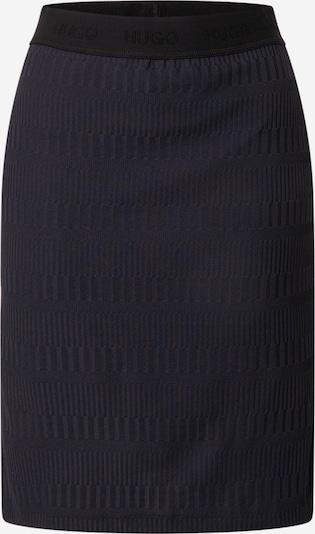 HUGO Jupe 'Nenalia' en bleu foncé / noir, Vue avec produit