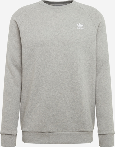 ADIDAS ORIGINALS Sweat-shirt en gris chiné, Vue avec produit