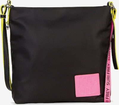 Suri Frey Umhängetasche 'Black Label Five' in neonpink / schwarz, Produktansicht