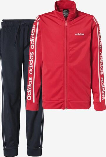 ADIDAS PERFORMANCE Trainingsanzug 'OSR YB C90 TS' in rot / schwarz, Produktansicht