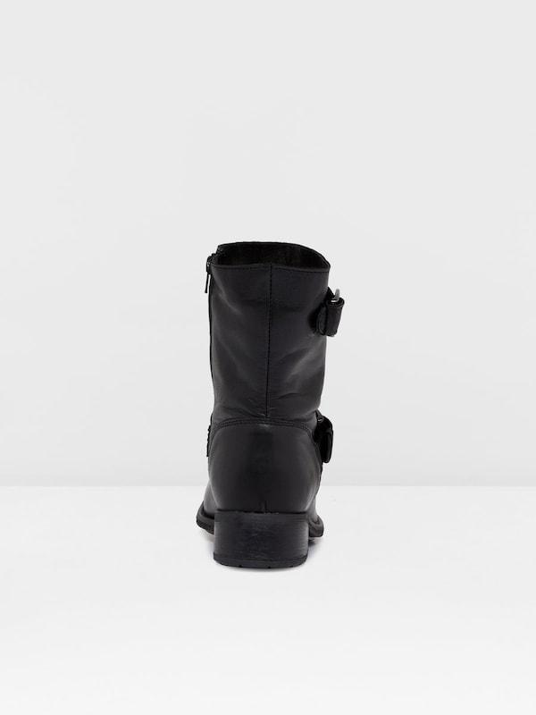 Bianco Warm Biker Boots