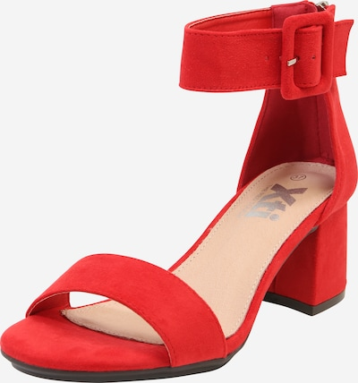 Xti Sandale in rot, Produktansicht