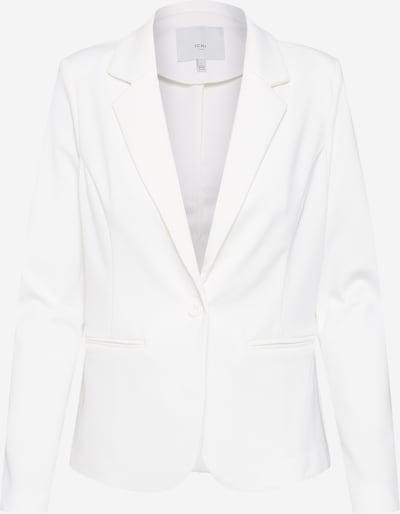 ICHI Blazer 'Kate' in weiß: Frontalansicht