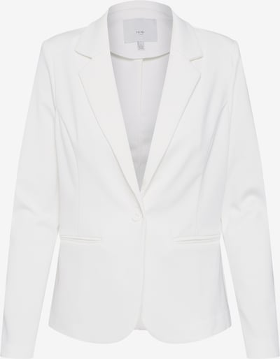 ICHI Sweat-Blazer 'Kate' in weiß, Produktansicht