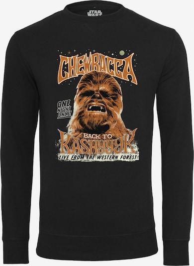Mister Tee Sweatshirt  'Chewbacca' in karamell / schwarz / weiß, Produktansicht