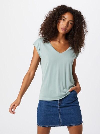 PIECES T-Shirt 'KAMALA' in jade: Frontalansicht