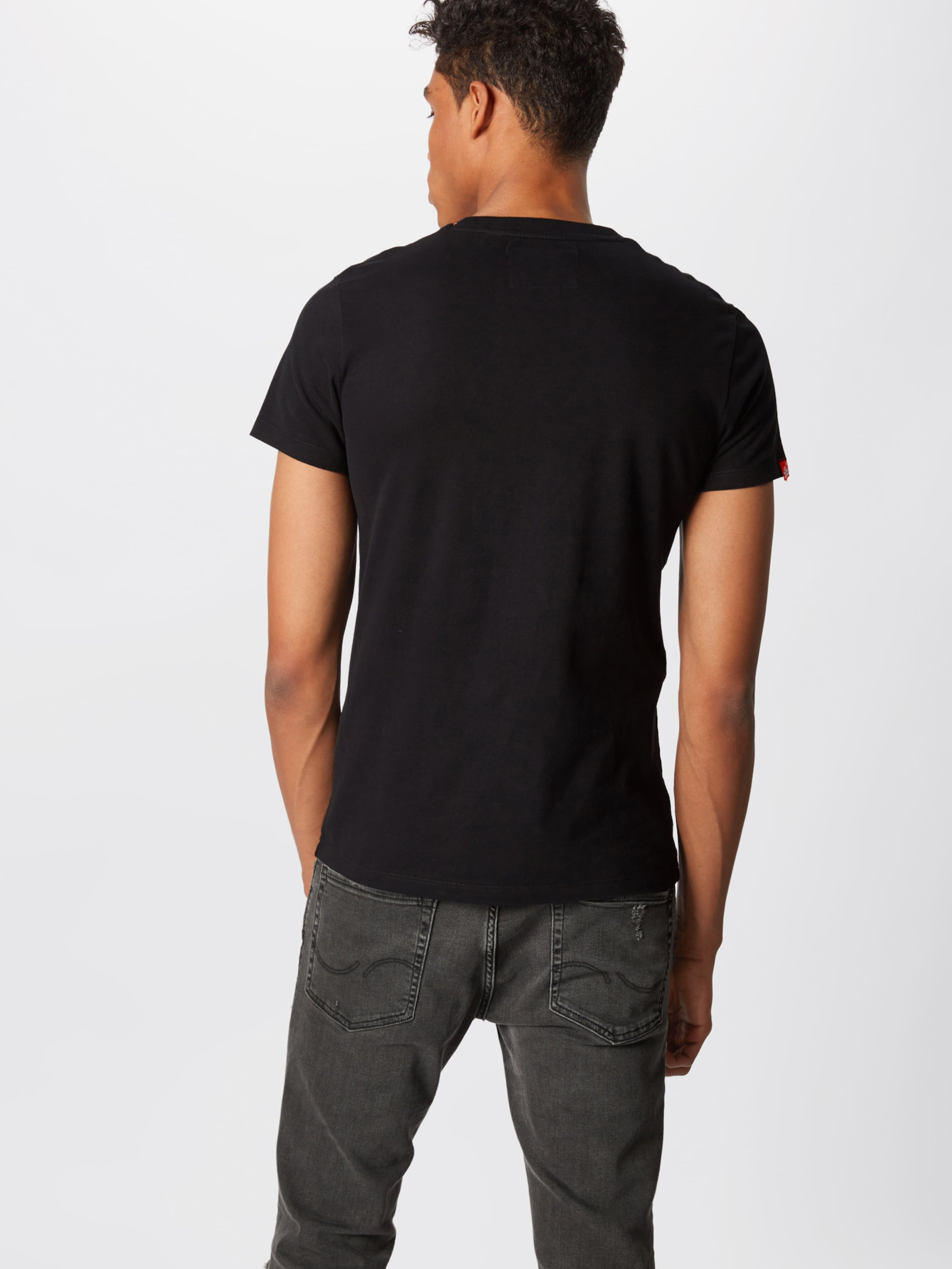 shirt En Noir Superdry T 8kX0wnOP
