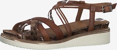 TAMARIS Remienkové sandále - hnedé, Produkt
