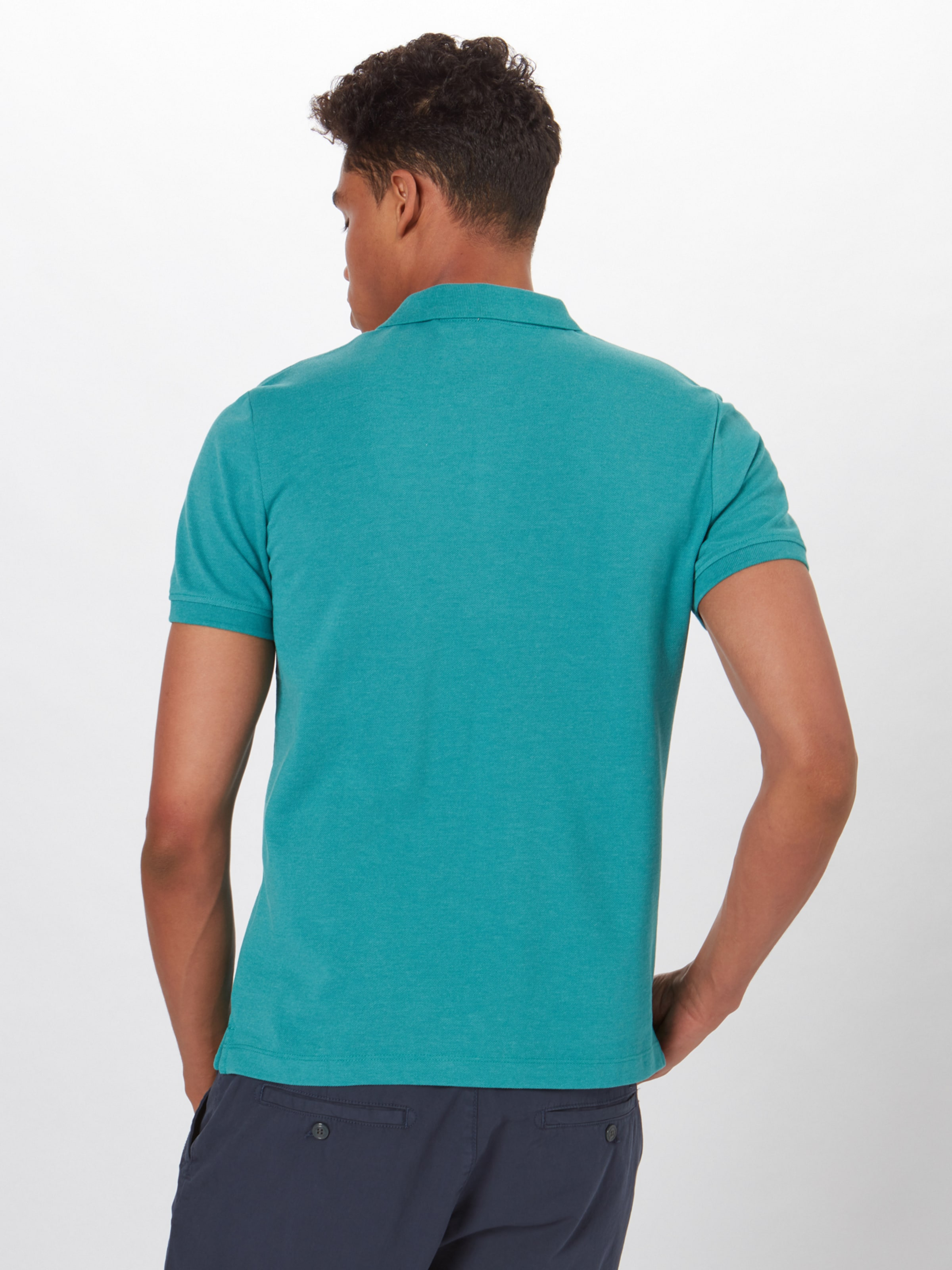 In Aqua Poloshirt Label oliver Red S KlJc1F