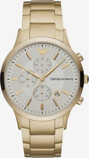 Emporio Armani Uhr in gold, Produktansicht