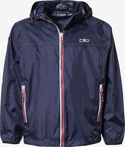 CMP Regenjacke in navy / rot / weiß, Produktansicht