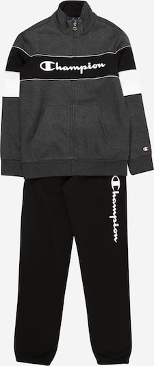 Champion Authentic Athletic Apparel Trainingsanzug in graphit / schwarz / weiß, Produktansicht