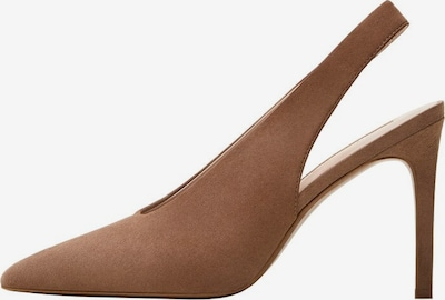 MANGO Schuh 'Pica' in braun, Produktansicht
