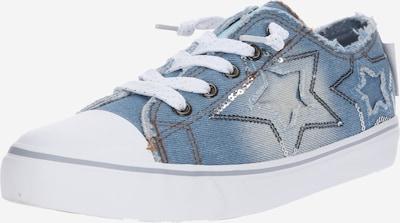 Dockers by Gerli Sneaker in blue denim, Produktansicht
