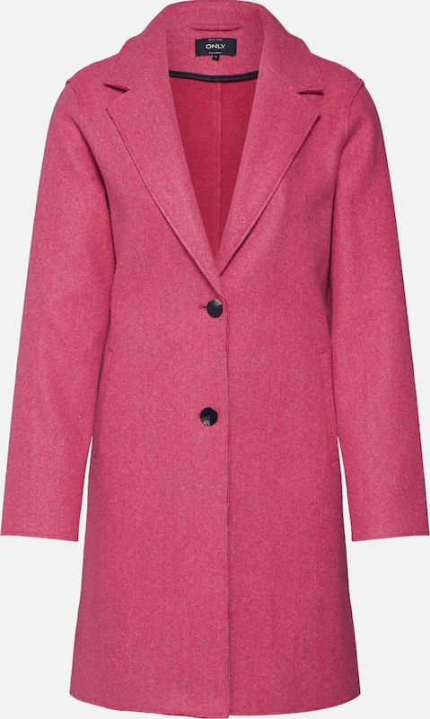 ONLY Mantel 'CARRIE BONDED COAT' in pink, Produktansicht
