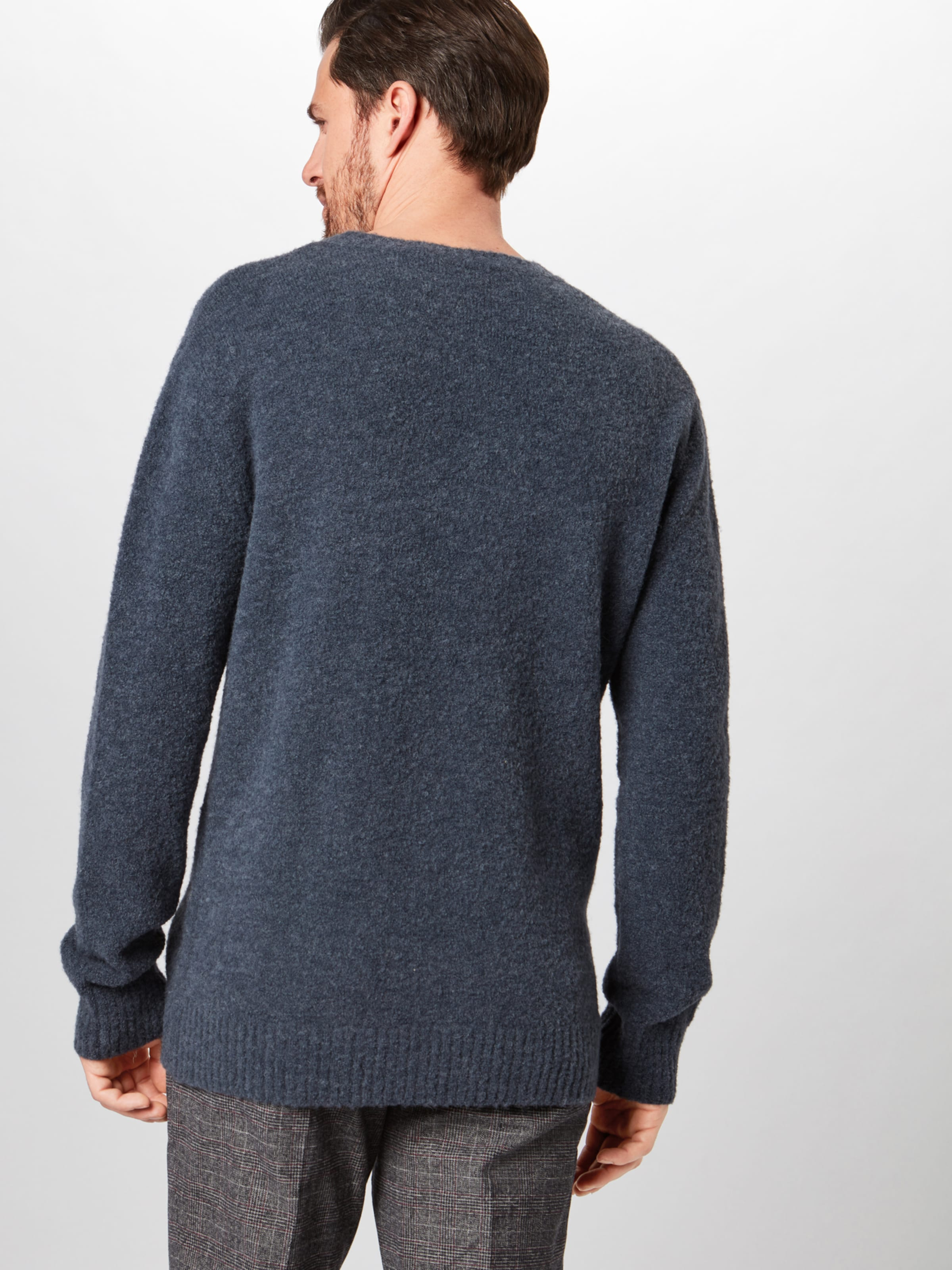 Pullover In 'hendry' Drykorn Pullover 'hendry' Drykorn Pullover In Navy Navy Drykorn rQtshd