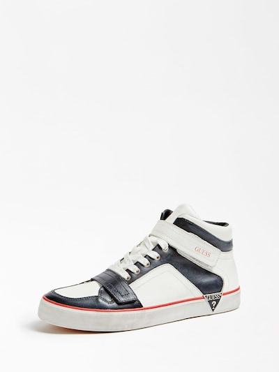 GUESS Sneaker in navy / weiß, Produktansicht