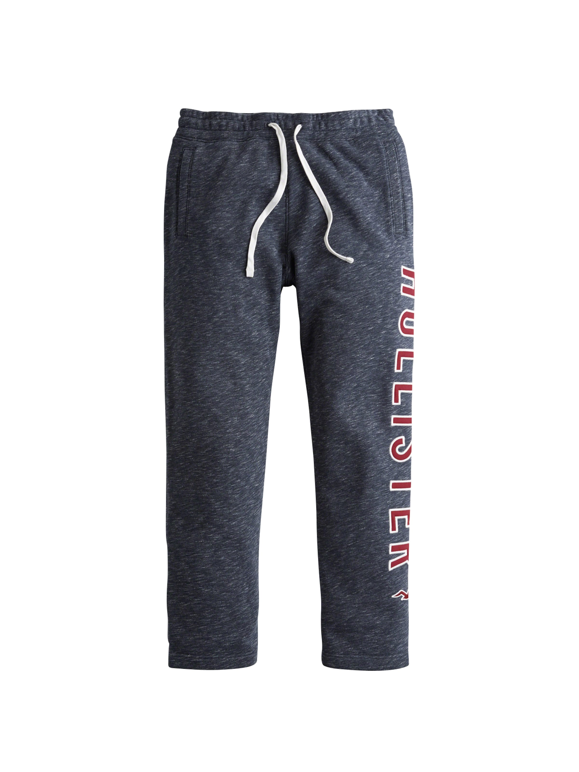 NavyKirschrot Straight Leg' Weiß Logo Hollister 'iconic Hose In gyf76Yb