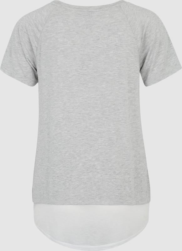 BENCH Shirt in Melange-Optik