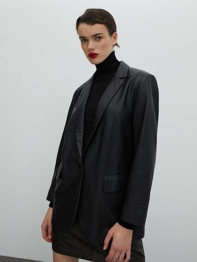 EDITED Blazer 'Miranda' in schwarz, Modelansicht