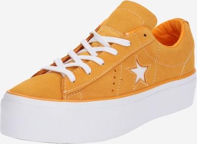 CONVERSE Sneaker 'ONE STAR PLATFORM - OX' in orange / weiß, Produktansicht