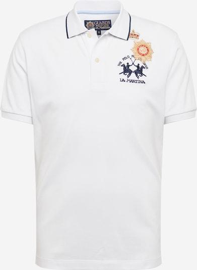 Tricou La Martina pe alb, Vizualizare produs