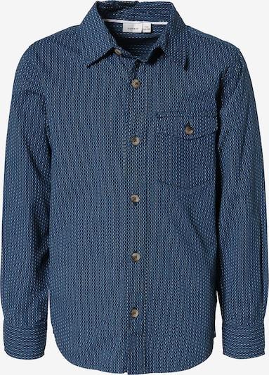 NAME IT Hemd in saphir / hellblau / weiß, Produktansicht