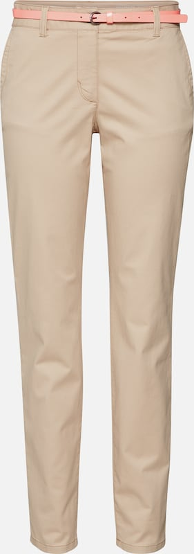 TOM TAILOR Chinohose in beige / creme, Produktansicht