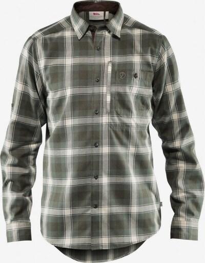 Fjällräven Hemd in grau / oliv, Produktansicht