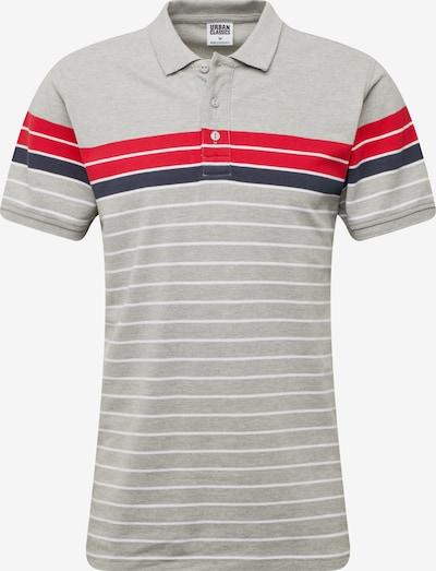 Urban Classics Koszulka w kolorze szary / czerwony / białym, Podgląd produktu