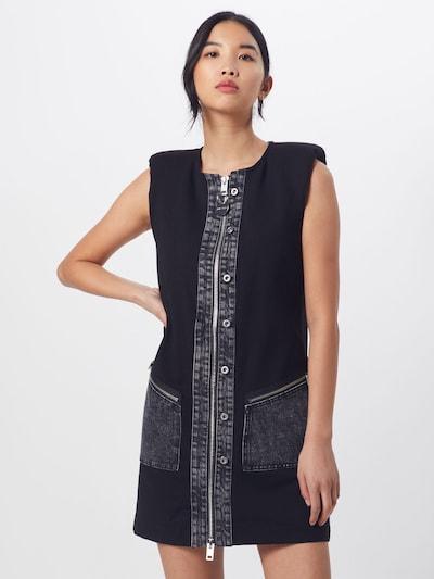 DIESEL Kleid 'D-SKUSA DRESS' in schwarz, Modelansicht