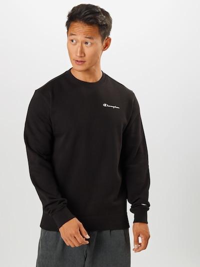 Champion Authentic Athletic Apparel Sweatshirt in schwarz: Frontalansicht