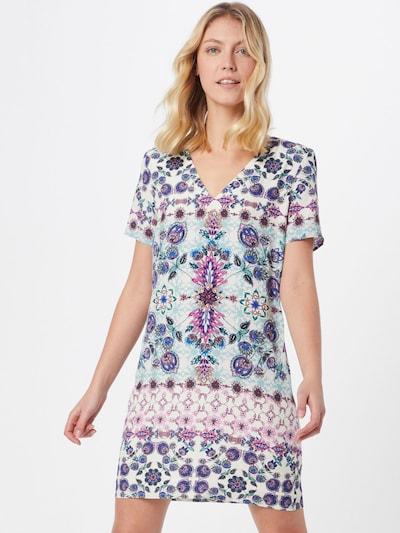 Desigual Kleid 'VEST YUKON' in hellblau / mischfarben, Modelansicht