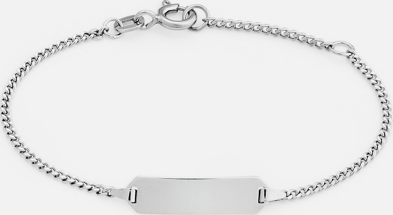 FAVS. Armband 'I.D.' in silber: Frontalansicht