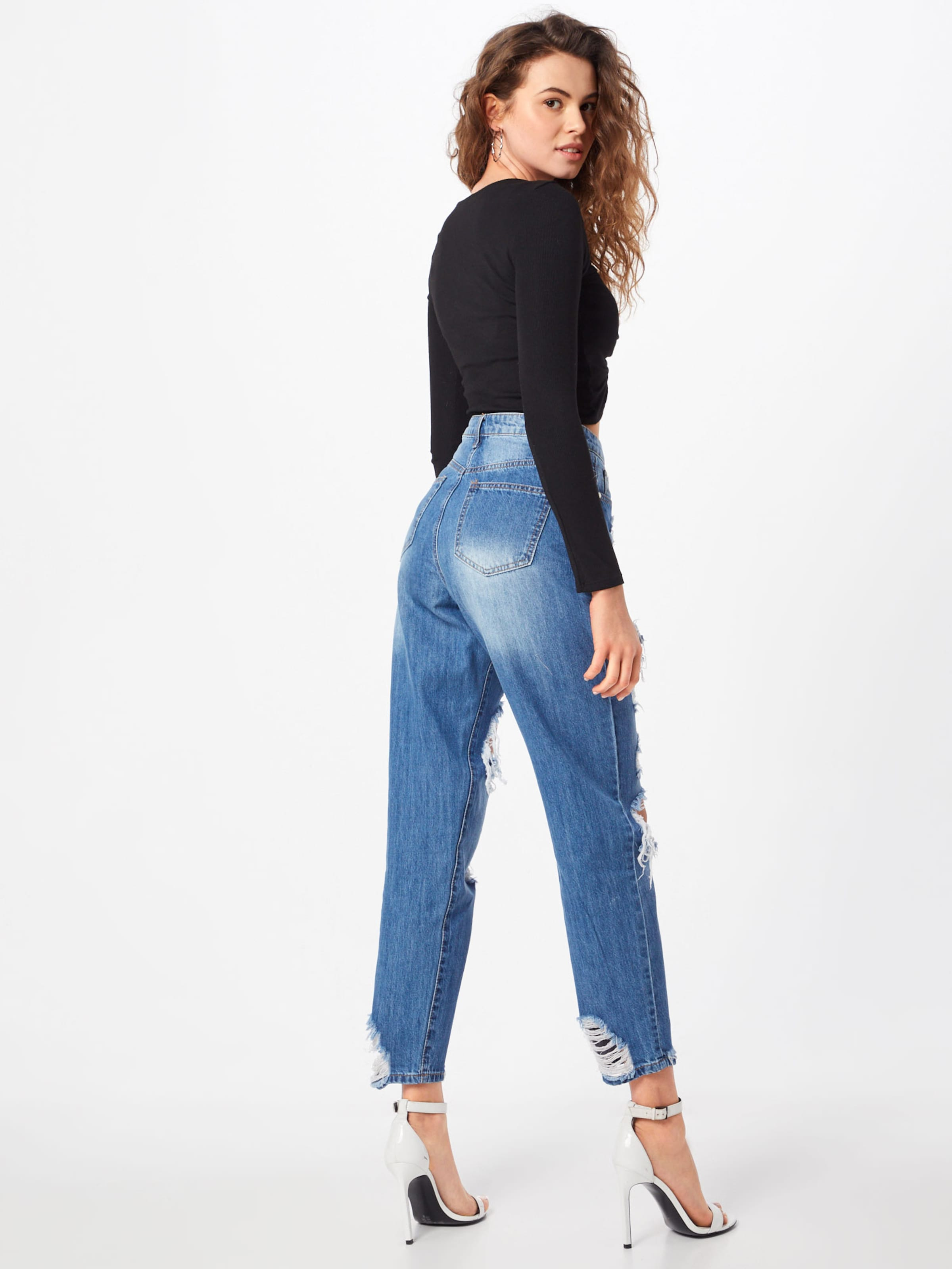 In Blau 'riot' 'riot' Jeans Missguided Missguided Jeans In 53RcjS4ALq