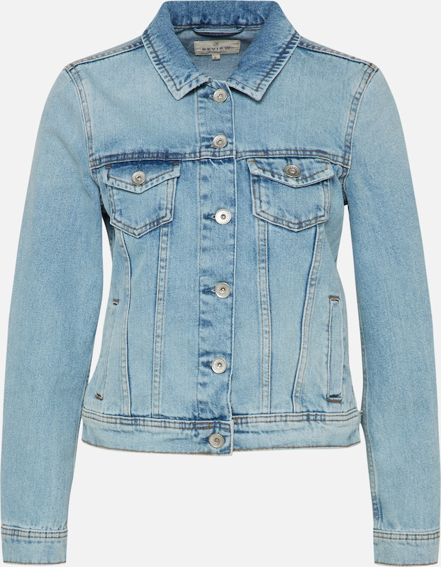 Tussenjas Review Blauw Denim In WEYIHD29