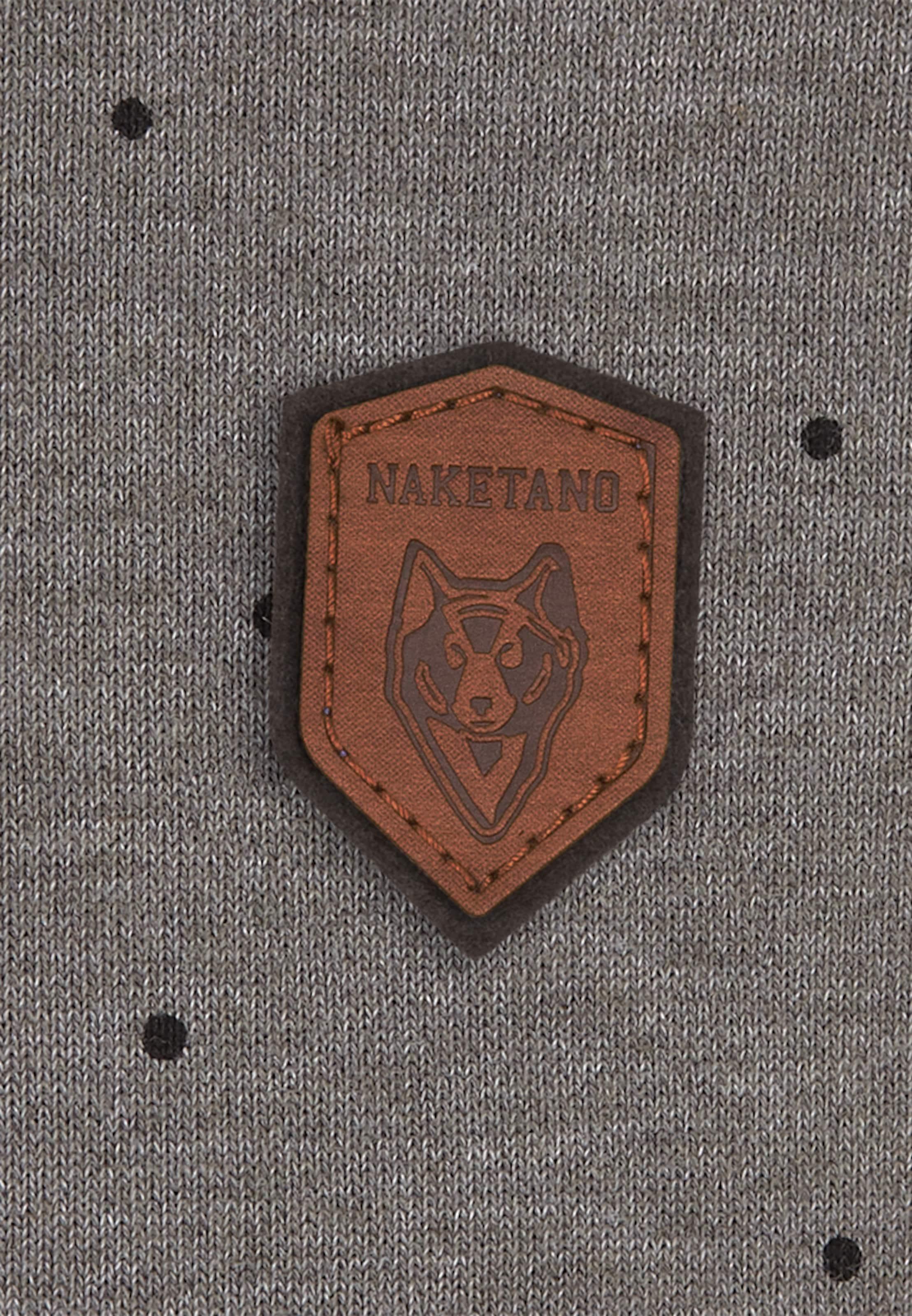 'cevapcici GrauSchwarz Naketano Günther' Sweatshirt In mNnvw80O