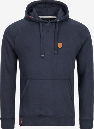 INDICODE JEANS Sweatshirt 'Litcham' in de kleur Enziaan, Productweergave