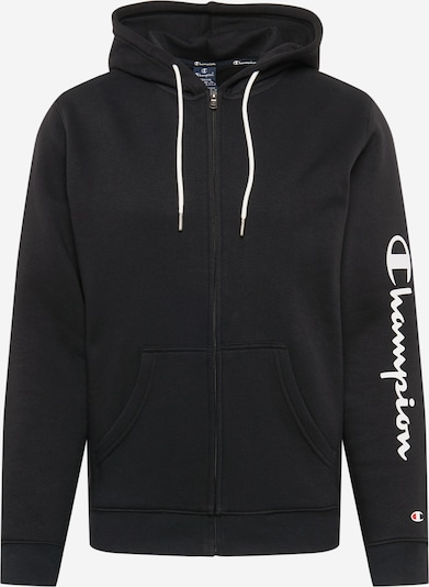 Champion Authentic Athletic Apparel Mikina s kapucí - černá / bílá, Produkt