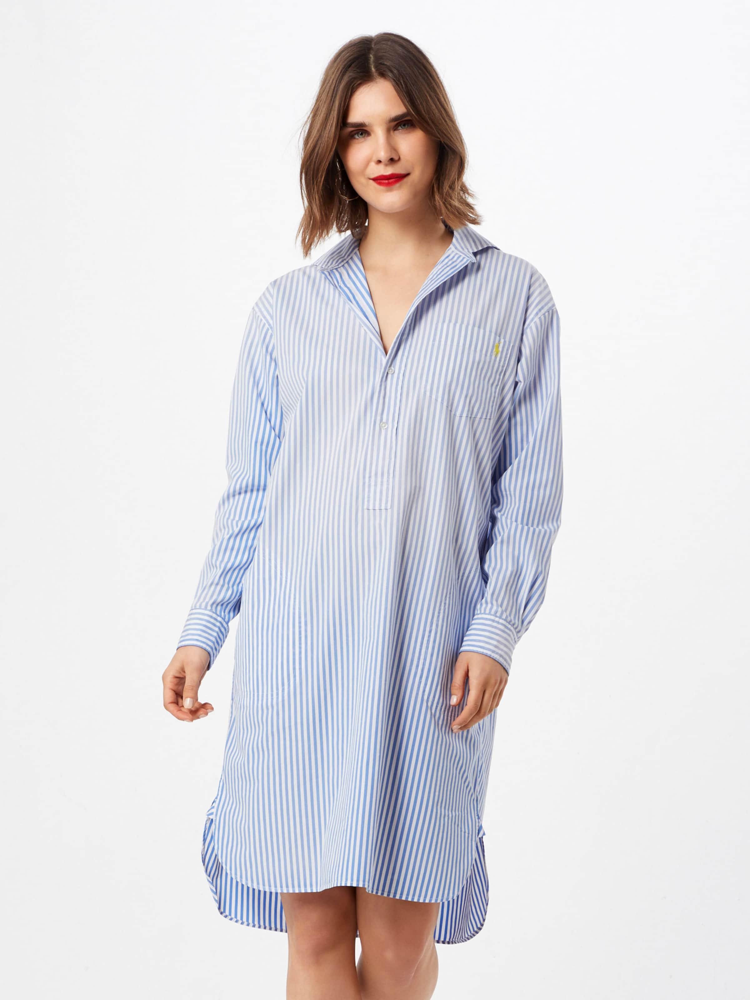 chemise En Robe BleuBlanc Polo Ralph Lauren OwiTklPXZu