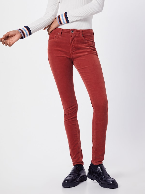 Pepe Jeans Hose in rot, Modelansicht